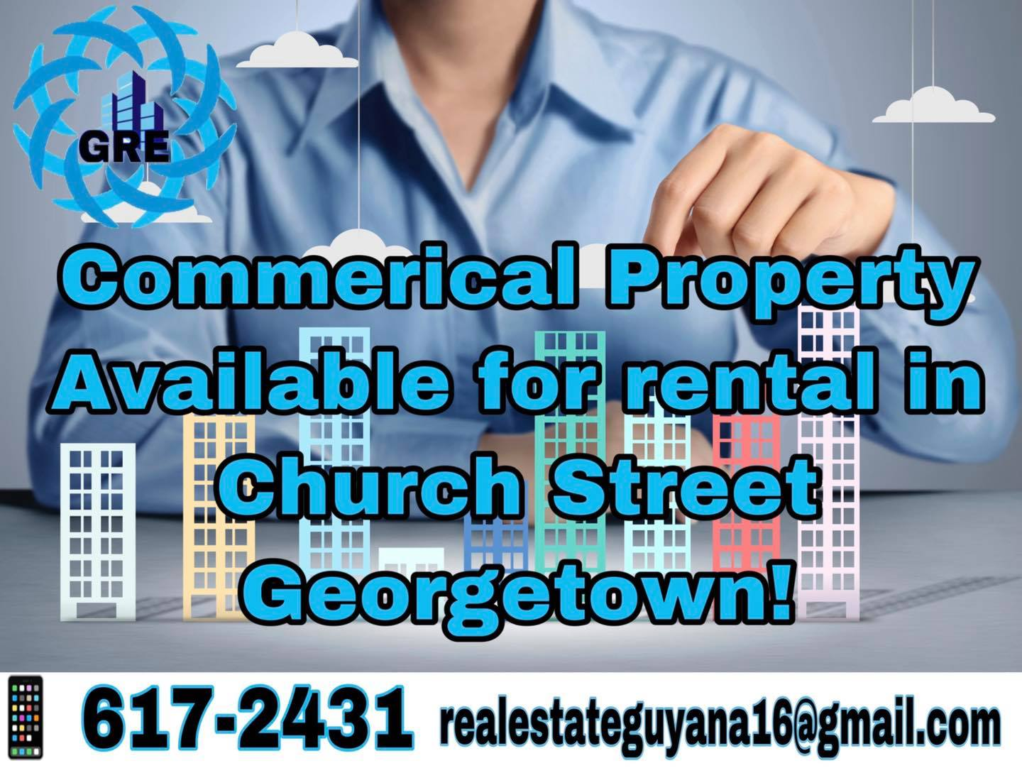 Commerical Property Available for Rental in Church Street Georgetown.
