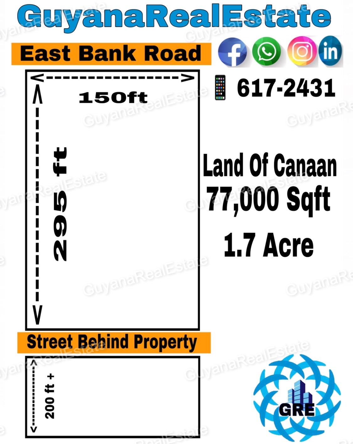 Commerical Road Side Property & Developed land / Warehouse property for sale!