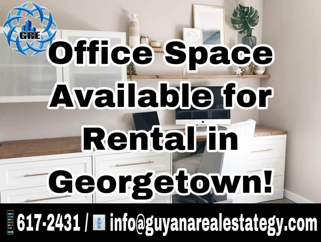 Office Space available for Rental in Georgetown (Station Street Kitty)
